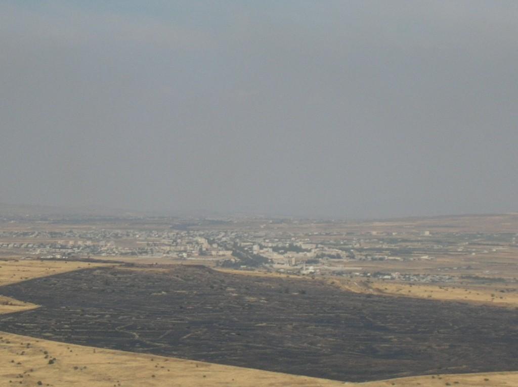 קונייטרה החדשה בסוריה - מעבר לשלף השרוף