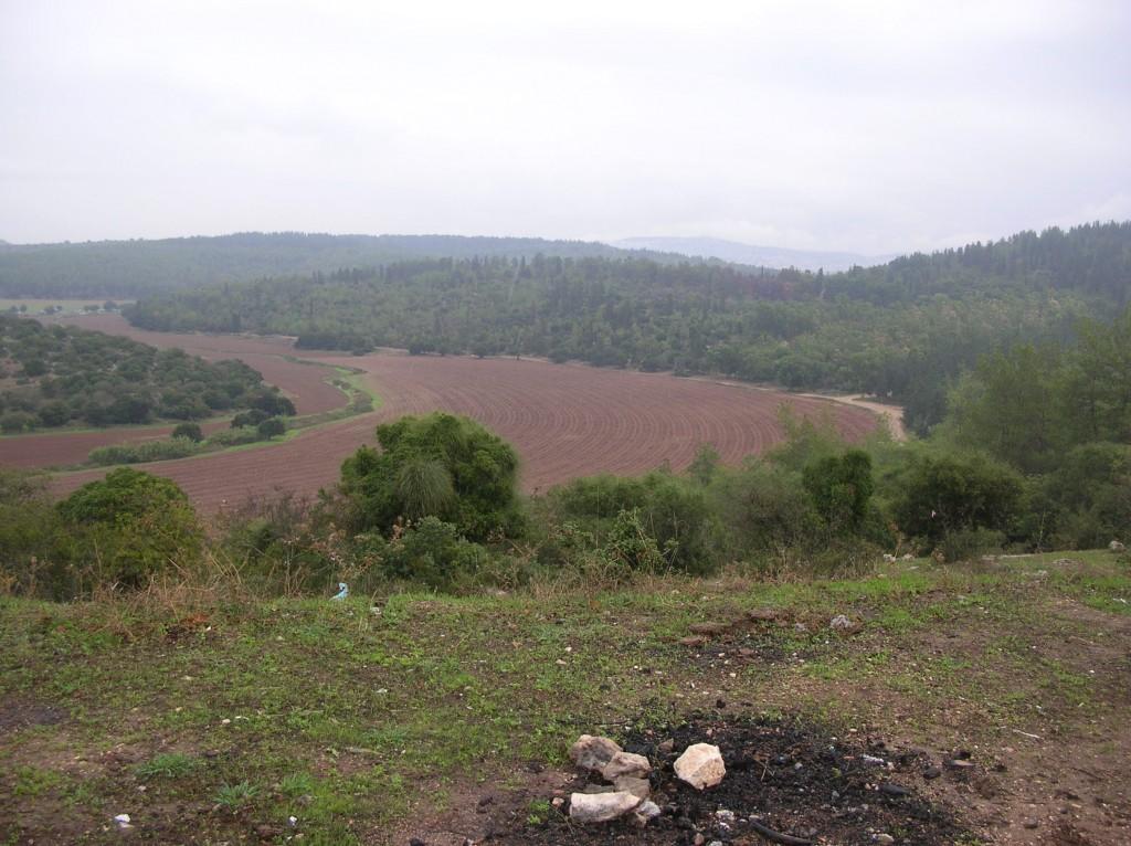 שדות בעל ליד נחל ציפורי