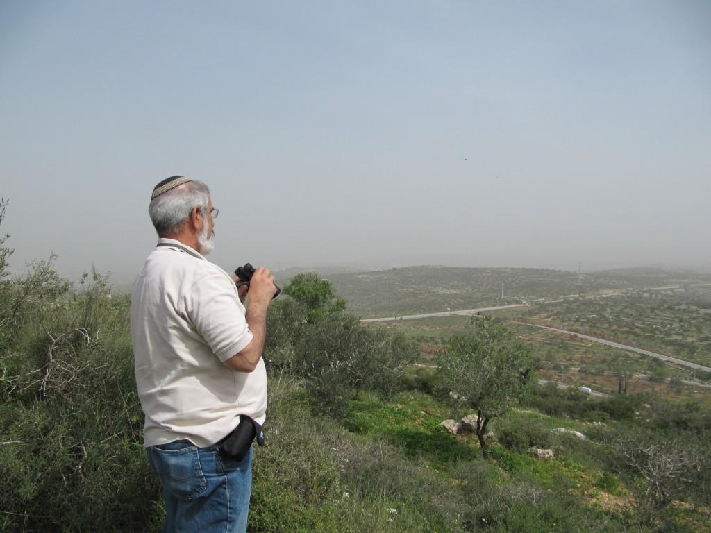 תצפית מח'רבת א דיר ליד כפר תפוח