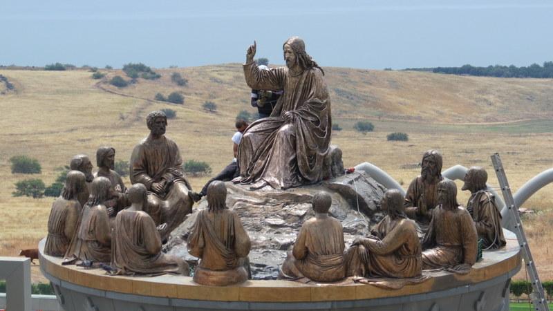 Sermon of the Mountain Sculpture