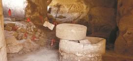שרידים של בית בד לייצור שמן זית - אל דווימה - צילום צפריר רינת