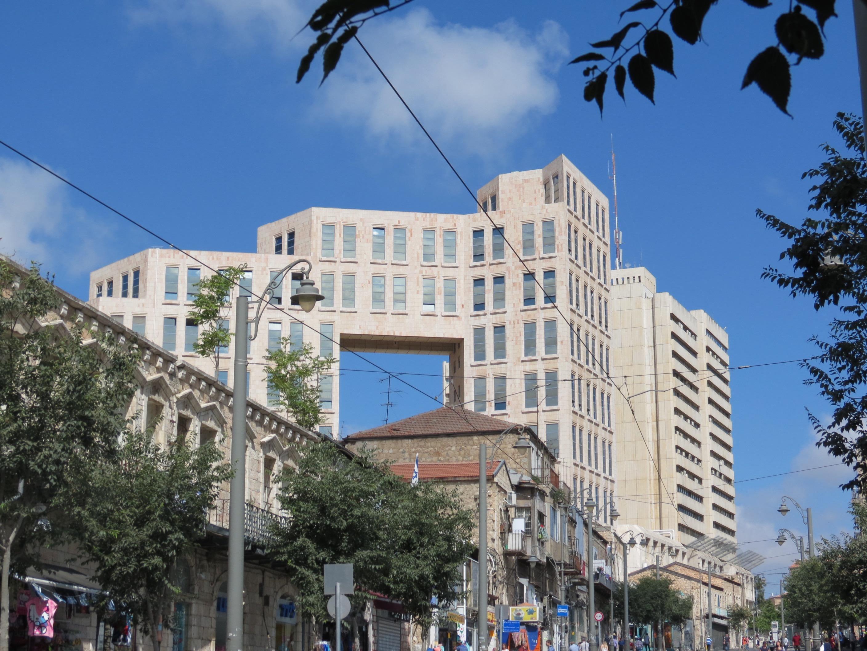 רחוב יפו - בניין כלל ובית החלונות