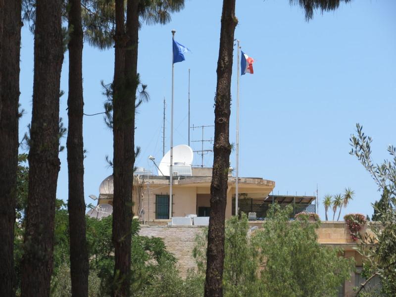 בנין הקונסוליה הצרפתית ירושלים - ממרכז בגין אל מלון המלך דוד