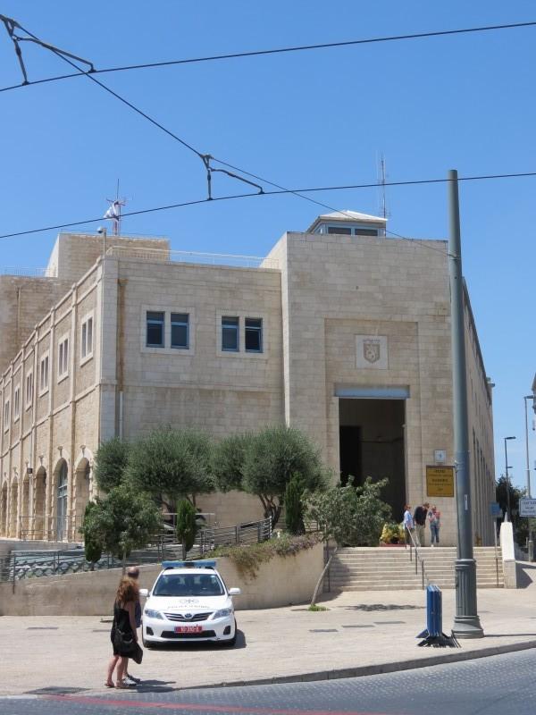 מחלקות עיריית ירושלים בבנין הבייגעלמאכער