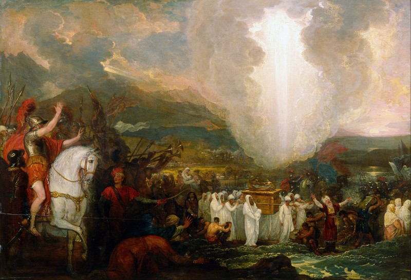 Benjamin West - Joshua passing the River Jordan with the Ark of the Covenantצילום: Art Gallery of New South Wales