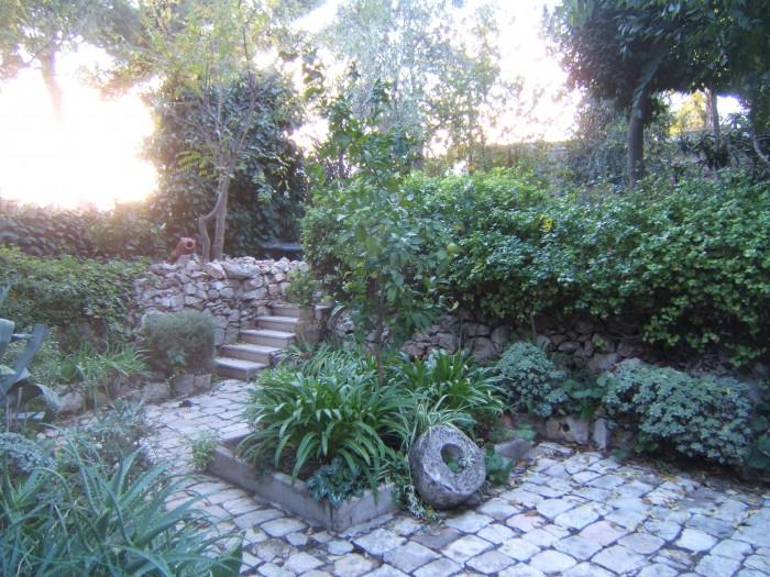 """הבוסתן בחצר הנביאים 64 (בית הולמן האנט וד""""ר הלנה כגן) צילום:DMY"""