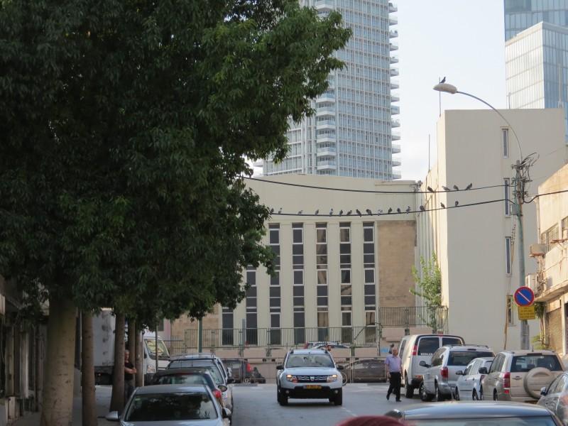 תחנת-הכוח הראשונה בתל אביב - ברחוב בחשמל