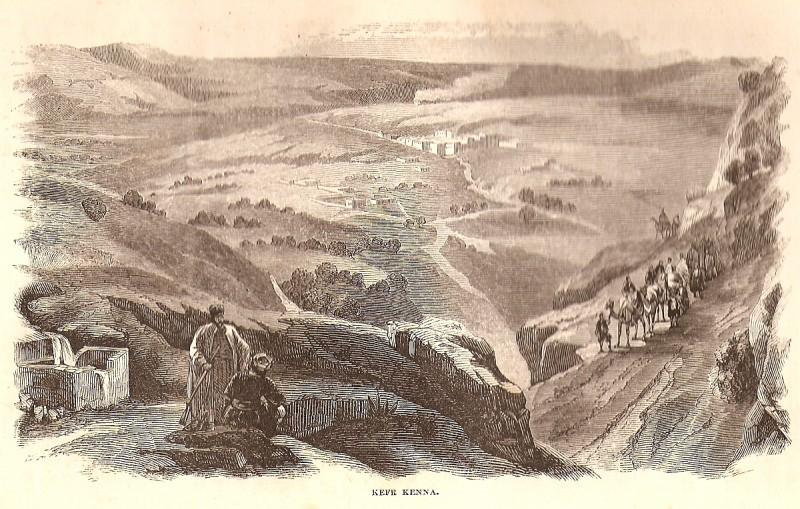 Kafr Kanna, 1859-60