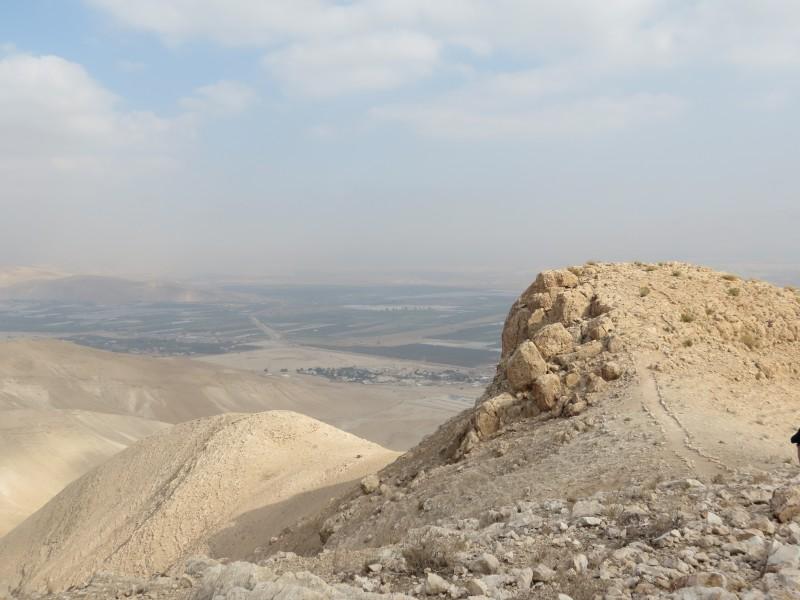 מושב משואה ופארעה אל-ג'יפתליק ממצפור ממצפור מוסטרה