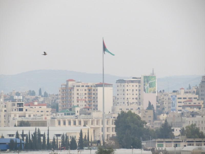 דגל פלסטין בטולכרם מכביש 6