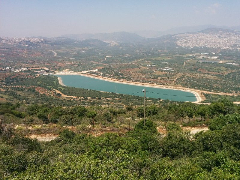 תצפית ממסד על אגם צלמון [לפי בקשת דוד נוה]