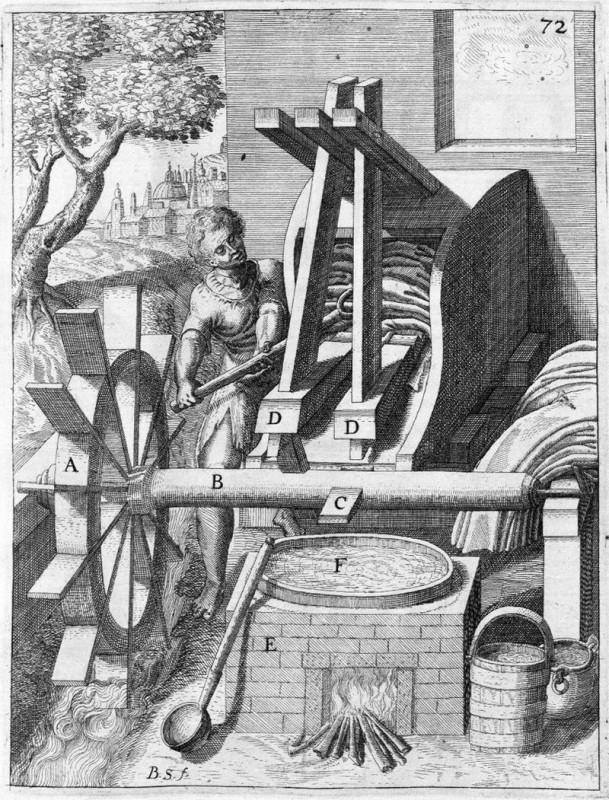 תחריט של מבטשה, 1661