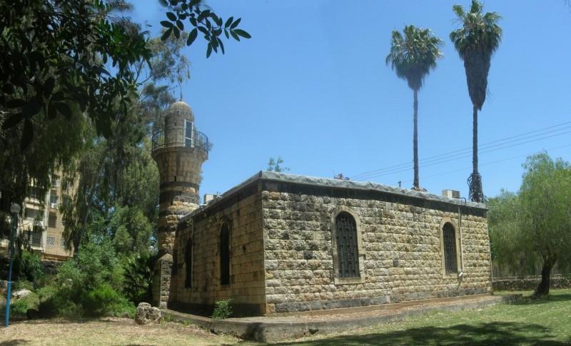 המסגד של אל-ח'אלצה, כיום המוזיאון לתולדות קריית שמונה צילום:Ram Eisenberg