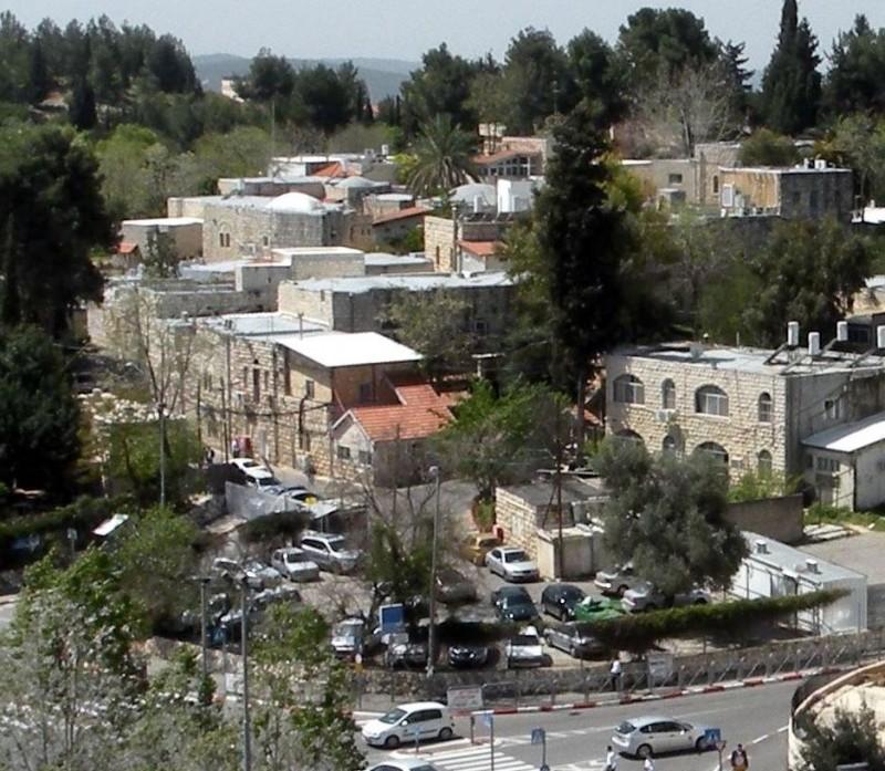Deir Yassin today, part of the Kfar Shaul Mental Health Center, an Israeli psychiatric hospital