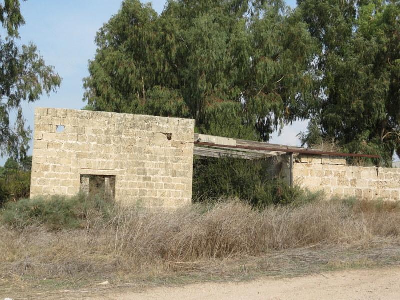 שרידי בישוב הבושנקים בקיסריה