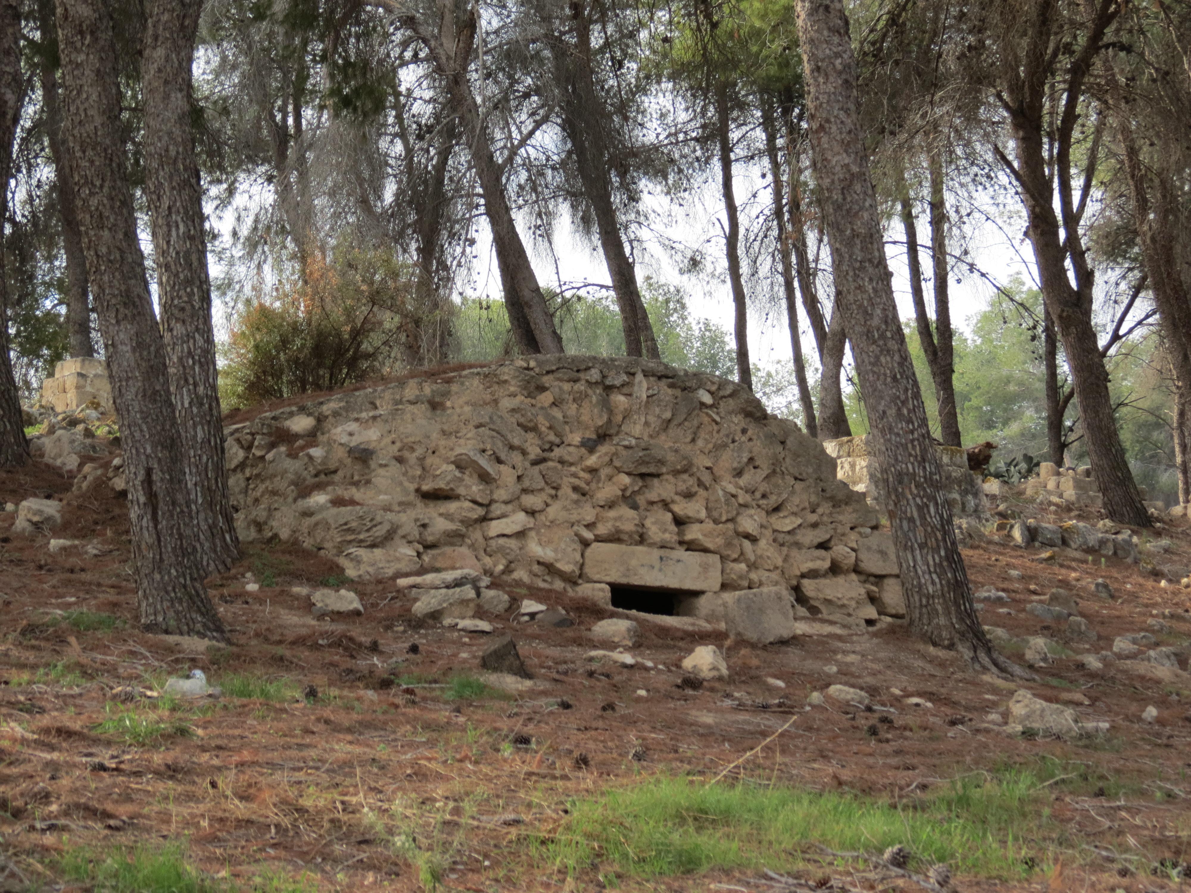 בית קברות מוסלמי - יער לביא