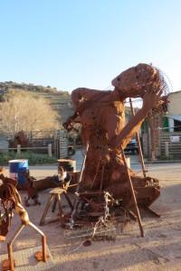 Naked Woman בסדנא של יופ