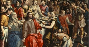 The Marriage at Cana by Maerten de Vos, c. 1596