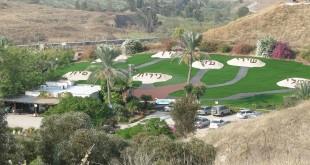 הגן שהוקם לזכר הילדות, עם שמותיהן צילום: Yoavd
