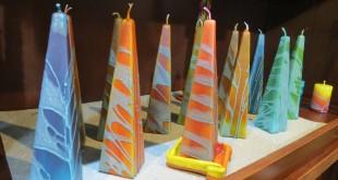 נרות צפת – Safed Candles Gallery   *