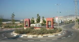 כיכר בכניסה לטמרה צילום:Almog