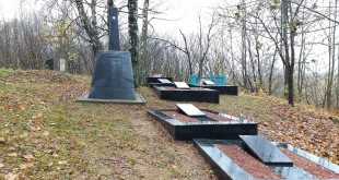 Memorial to the Jews - victims of the Holocaust in the town of Shklov, Mogilev region. It is located on the territory of the Jewish cemetery in Shklov. צילום:Avner